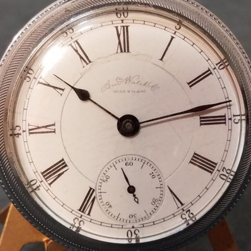 Image of Waltham A.T. & Co. #2884733 Dial