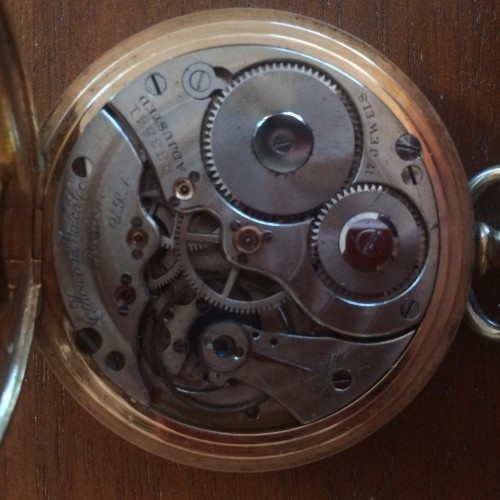 Image of E. Howard Watch Co. (Keystone) Series 3 #933541 Movement