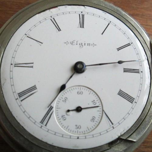 Elgin Grade 217 Pocket Watch Image