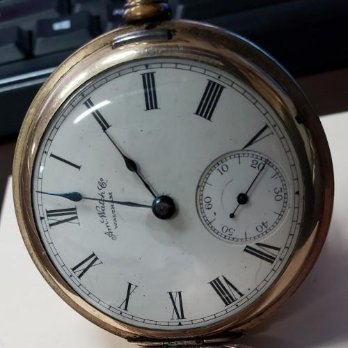American Watch Co. Grade P.S. Bartlett Pocket Watch Image