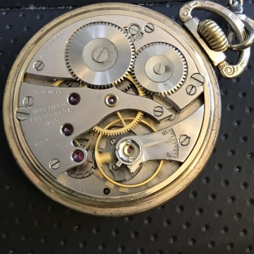 Waltham Grade No. 1617 Pocket Watch Image