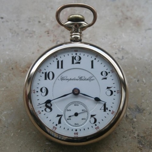 Hampden Grade No. 64 Pocket Watch Image