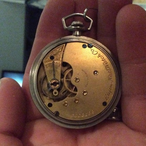 Elgin Grade 104 Pocket Watch Image