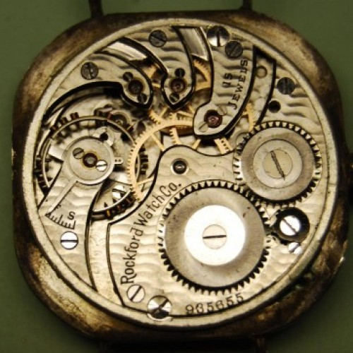 Rockford Grade 164 Pocket Watch Image