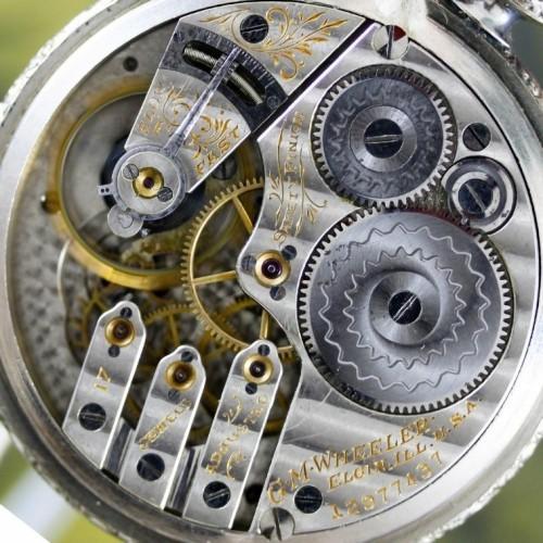 Elgin Grade 338 Pocket Watch Image