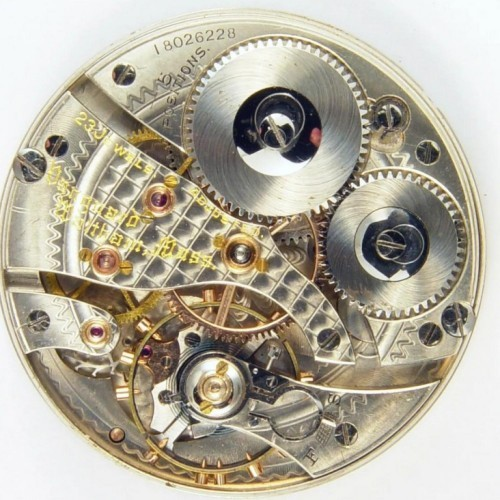 American Watch Co. Grade Railroad grade Pocket Watch Image