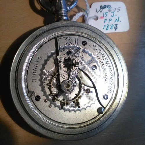 Waltham Grade No. 25 Pocket Watch Image