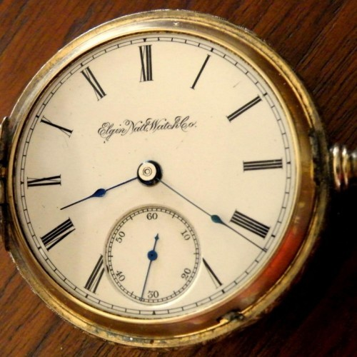Elgin Grade 103 Pocket Watch Image