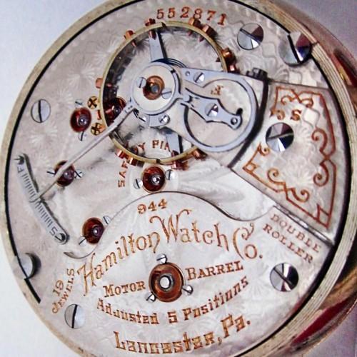 Hamilton Grade 944 Pocket Watch Image