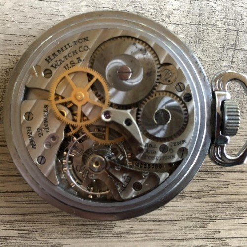 Hamilton Grade 4992B Pocket Watch
