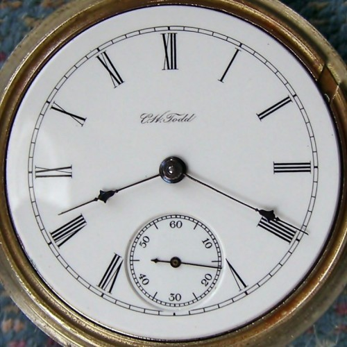Hamilton Grade 928 Pocket Watch Image