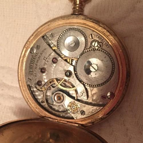 Waltham Grade No. 625 Pocket Watch