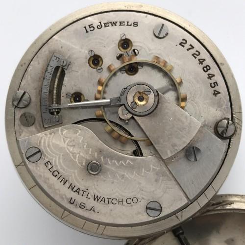 Elgin Grade 317 Pocket Watch Image