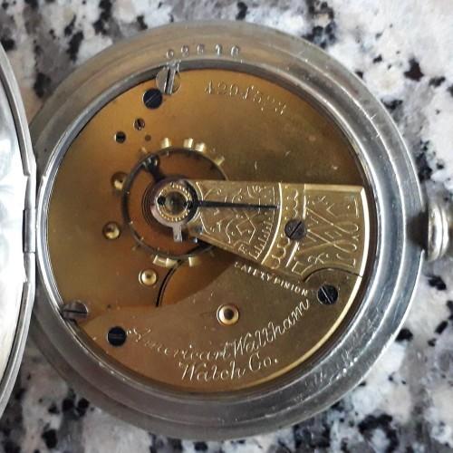 American Watch Co. Grade No. 1 Pocket Watch Image