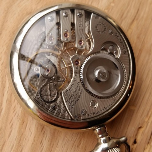 Illinois Grade 187 Pocket Watch Image