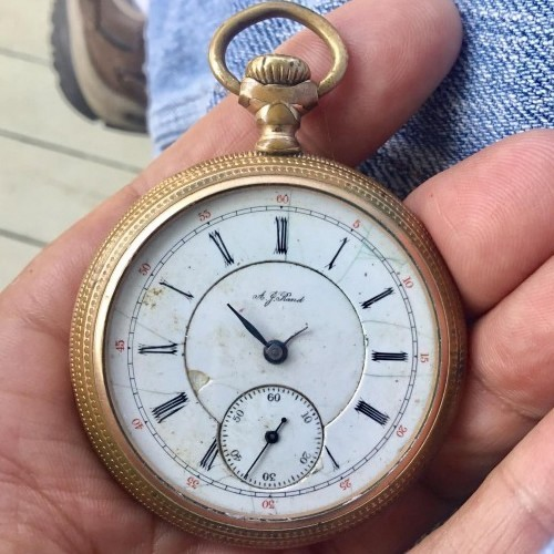 Illinois Grade 186 Pocket Watch Image