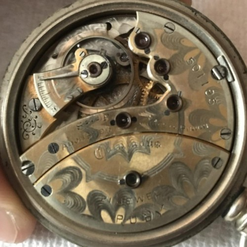 Image of Columbus Watch Co. Ruby #501185 Movement