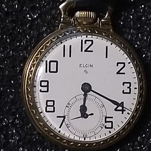 Elgin Grade 616 Pocket Watch Image