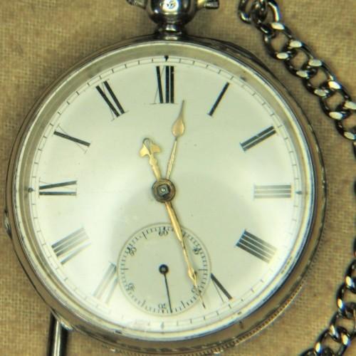 American Watch Co. Grade Martyn Square Pocket Watch Image