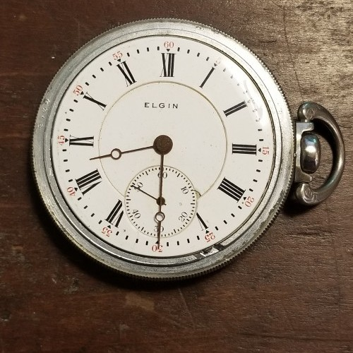 Elgin Grade 274 Pocket Watch Image