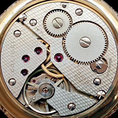 Swiss Imports Grade 6498 Pocket Watch Image