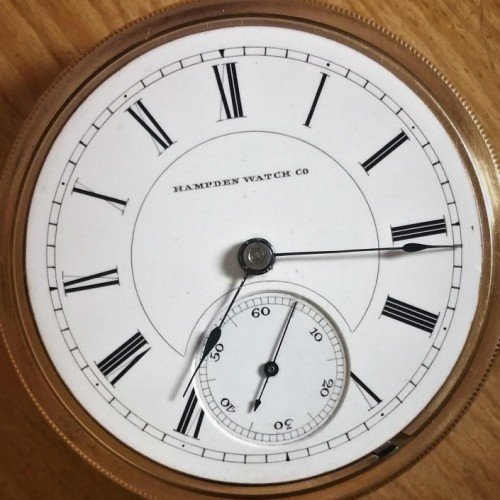 Image of Hampden No. 70 #326916 Dial