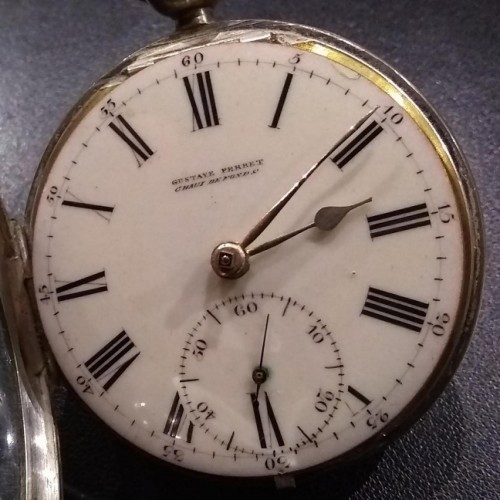 Other Grade Gustave Perret Pocket Watch Image