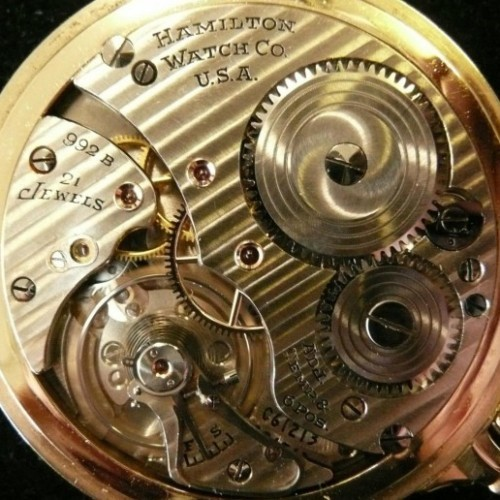 Image of Hamilton 992B #C61213 Movement