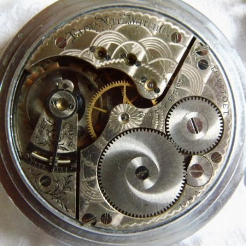 Elgin Grade 312 Pocket Watch Image