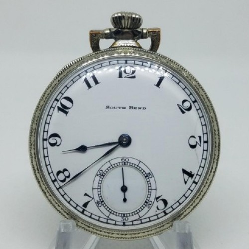 South Bend Grade 411 Pocket Watch Image