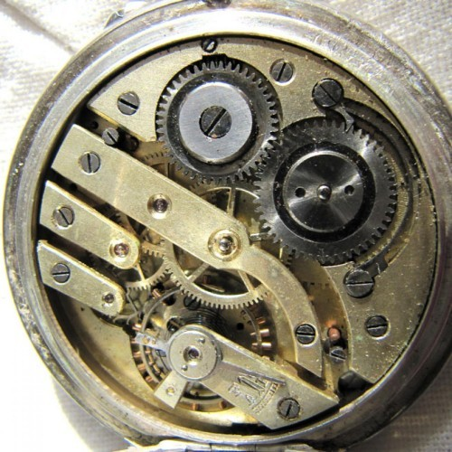 Watch movement identification pocket Pocket watch