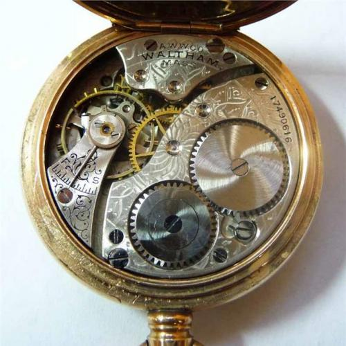 Waltham Grade No. 110 Pocket Watch Image