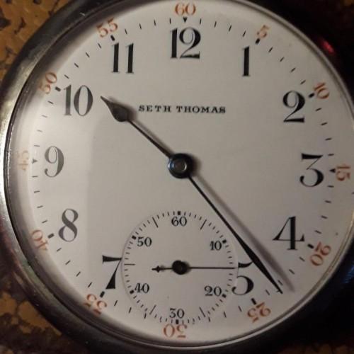 Seth Thomas Grade Centennial Pocket Watch Image