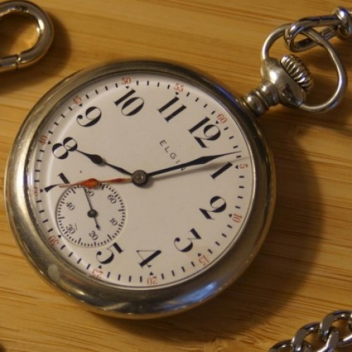 Elgin Grade 293 Pocket Watch Image