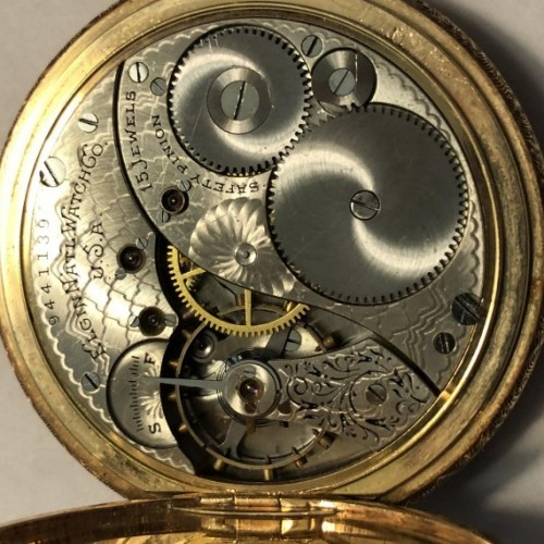 Elgin Grade 233 Pocket Watch Image