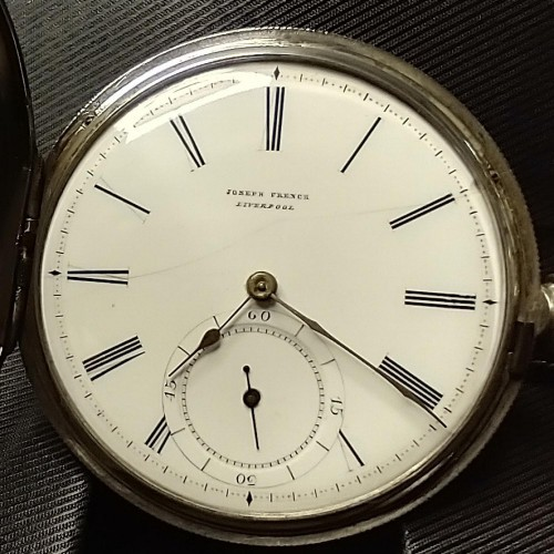 Other Grade Joseph French Late 1800's Pocket Watch Image