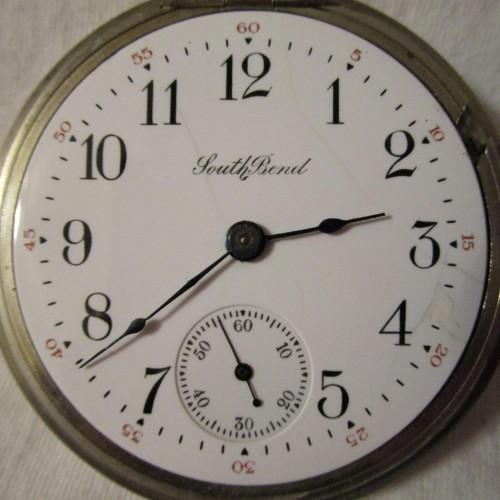 South Bend Grade 347 Pocket Watch Image