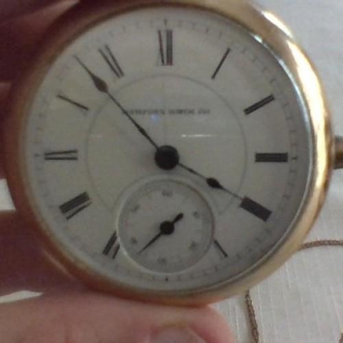 Hampden Grade No. 36 Pocket Watch Image