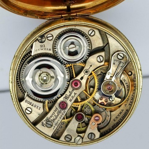 Image of E. Howard Watch Co. (Keystone) Series 1 #1107300 Movement