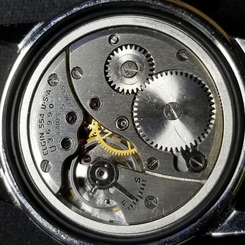 Elgin Grade 554 Pocket Watch Image