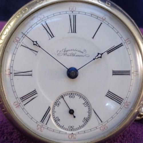 Waltham Grade No. 35 Pocket Watch Image