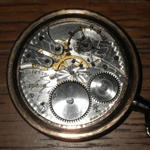 Hampden Grade No. 302 Pocket Watch Image