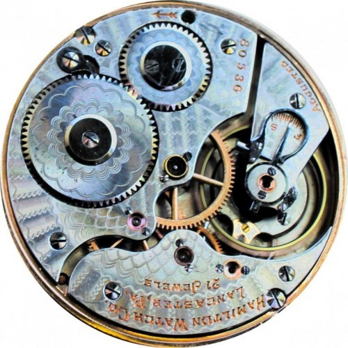 Hamilton Grade 970 Pocket Watch Image