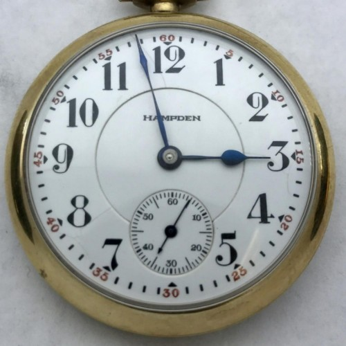 Hampden Grade Ohioan Pocket Watch Image