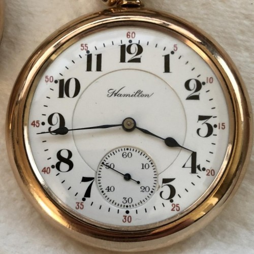 Hamilton Grade 990 Pocket Watch Image
