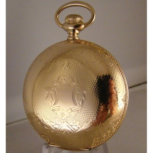 Washington Watch Co. Grade Lafayette Pocket Watch Image