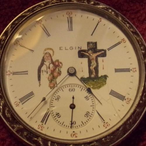 Elgin Grade 305 Pocket Watch Image