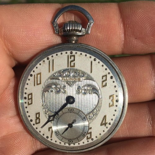 Illinois Grade 279 Pocket Watch Image