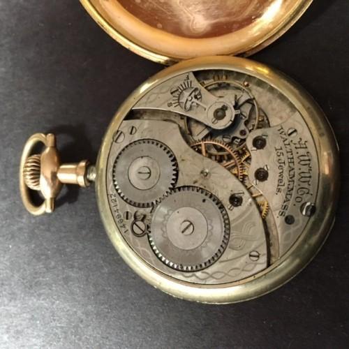 Waltham Grade No. 1420 Pocket Watch Image