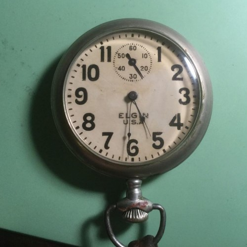 Elgin Grade 480 Pocket Watch Image